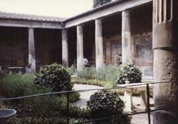 [house of the Vettii in Pompeii]